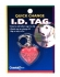 Coastal ID Tag Heart брелок светоотражающий для адреса на ошейник