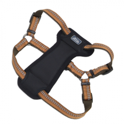 Coastal K9 Explorer Harness КОСТАЛ К9 ЭКСПЛОРЕР светоотражающая шлея с нагрудником для собак 20.4-45.3кг