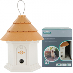 PetSafe Deluxe Outdoor ПЕТСЕЙФ ДЕЛЮКС АУТДОР антилай, стационарное ультразвуковое устройство от лая собак на улице, 2 режима, до 15 м